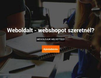 weboldal készítés Siófok